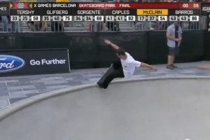 Brad McClain X Games Finals