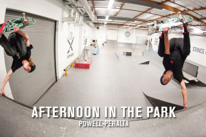 Afternoon In The Park: Powell-Peralta   TransWorld SKATEboarding