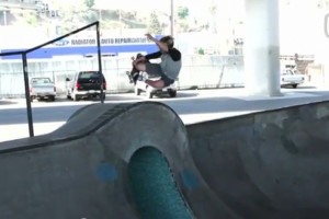 Shane Borland at Channel Skatepark