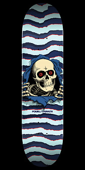 Powell Peralta Ripper Skateboard Deck Blue - 9 x 32.95