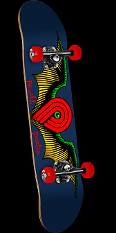 Powell Peralta Winged P Complete Skateboard Blue - 8 x 32.125
