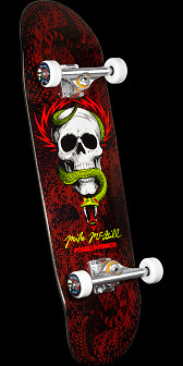 Powell Peralta Mike McGill Funshape Complete Skateboard Black - 8.97 x 32.38