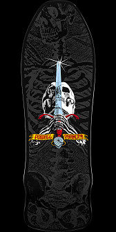 Powell Peralta Gee Gah Skull and Sword Skateboard Deck