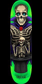 Powell Peralta Pro Charlie Blair Magician Skateboard Deck Green - 8 x 31.45