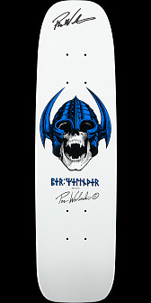 Powell Peralta Jay Smith GFL Benefit Autographed Skateboard Deck Orange - 10 x 31