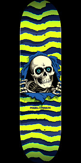Powell Peralta Ripper Skateboard Deck Lime - 8 x 31.45