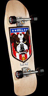 Powell Peralta Hill Bulldog Complete Skateboard Natural - 10 x 31.5