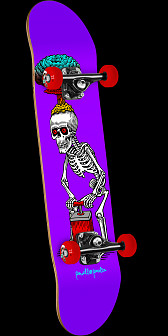 Powell Peralta Explode Complete Skateboard Purple - 7.88 x 31.67