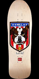 Powell Peralta Hill Bulldog Reissue Skateboard Deck Natural - 10 x 31.5