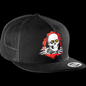 Powell Peralta Ripper Flex-Fit Cap - Black