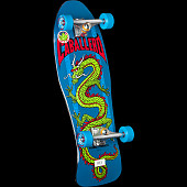 Powell Peralta Caballero Chinese Dragon Complete Skateboard Blue - 10 x 30