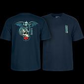 Powell Peralta T-shirt Dragon Skull Navy