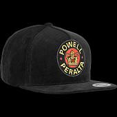 Powell Peralta Supreme Snapback Cap Black