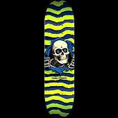 Powell Peralta Ripper Skateboard Deck Lime - 8 x 31.45
