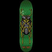 Powell Peralta Roach Skateboard Deck Green - 8 x 31.45