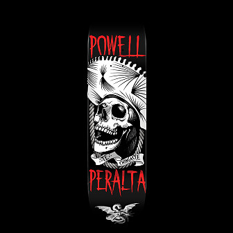 Powell Peralta Te Chingaste Skateboard Deck White - 8.5 x 32.08