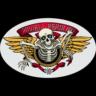 Powell Peralta 40th Anniversary Single Sticker