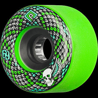 Powell Peralta Snakes 69mm Green 4pk