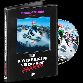 Powell Peralta Bones Brigade Video Show Special Edition DVD