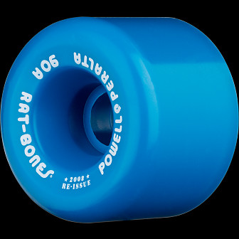 Powell Peralta Rat Bones 60mm 90a - Blue (4 pack)