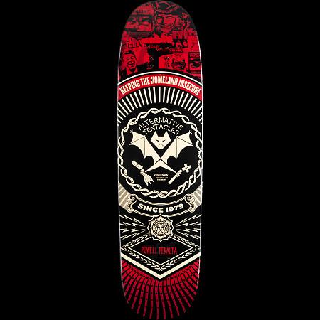 Powell Peralta Guest Artist Winston Smith Skateboard Deck - 8.4 x 31.5