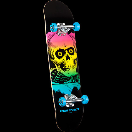 Powell Peralta Ripper Complete Skateboard Blue - 8 x 32.125