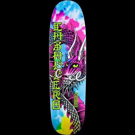 Powell Peralta Slappy Tie Die Caballero Ban This Skateboard Deck - 8.5 x 30.5