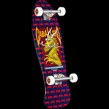 Powell Peralta Caballero Dragon and Bats Custom Complete Skateboard - 9.625 x 29.75