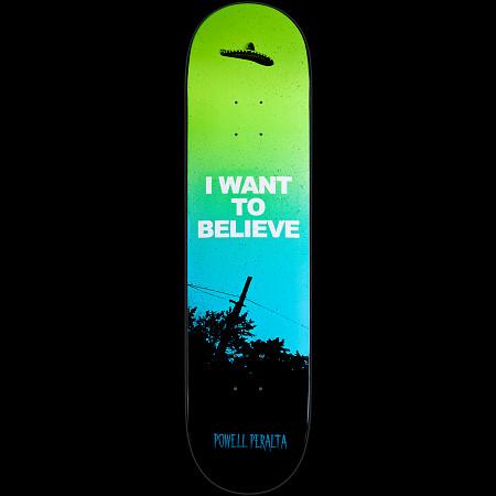 Powell Peralta LIGAMENT Believe Skateboard Deck - 8.25 x 32.5