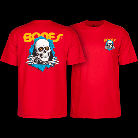Powell Peralta RIpper T-shirt - Red