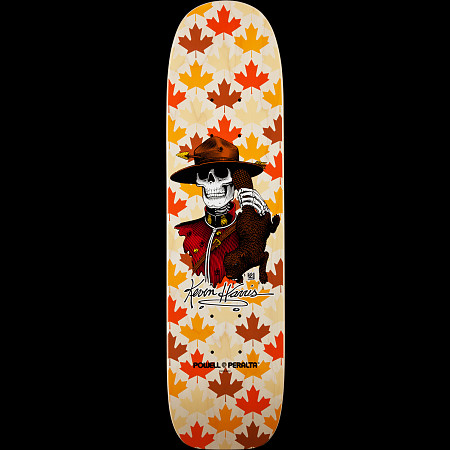 Powell Peralta Kevin Harris Mountie Freestyle Skateboard Deck Natural - 7 x 26.6
