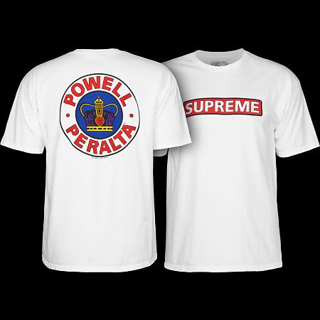 Powell Peralta Supreme T-shirt - White