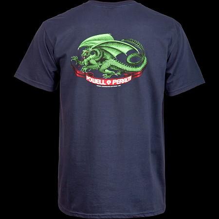Powell Peralta Oval Dragon T-shirt - Navy