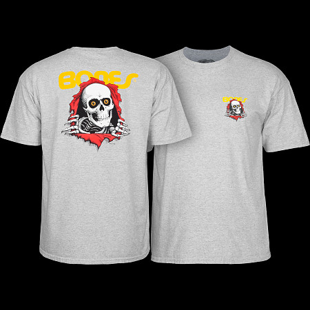 Powell Peralta Youth Ripper T-shirt - Gray