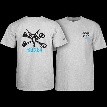 Powell Peralta Rat Bones T-shirt - Gray
