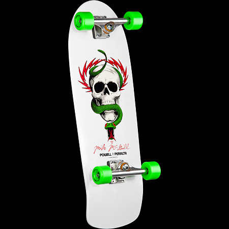 Powell Peralta Mike McGill Skull and Snake Complete White - 10 x 30.125