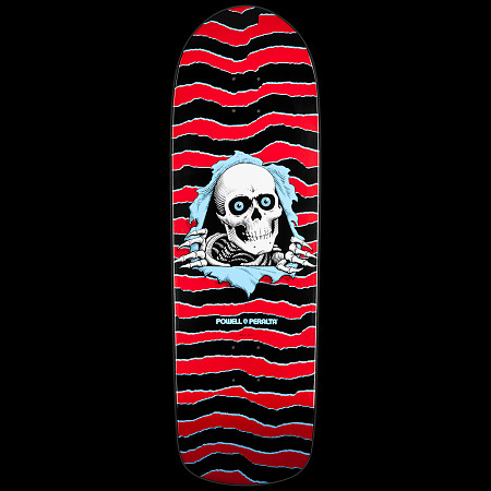 Powell Peralta Old School Ripper Skateboard Deck Red - 10 x 31.75