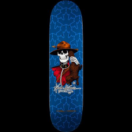 Powell Peralta Kevin Harris Mountie Skateboard Deck Navy - 8 x 31.25
