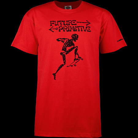 Powell Peralta Future Primitive T-shirt - Red