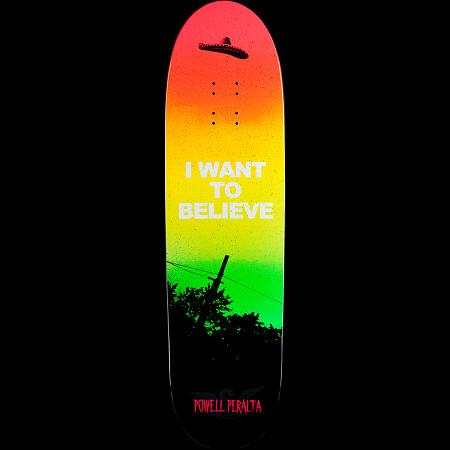 Powell Peralta Funshape Believe 2 Skateboard Deck - 8.6 x 31.84