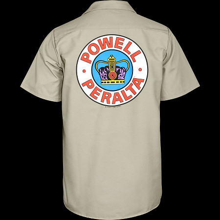 Powell Peralta Supreme Work Shirt - Khaki
