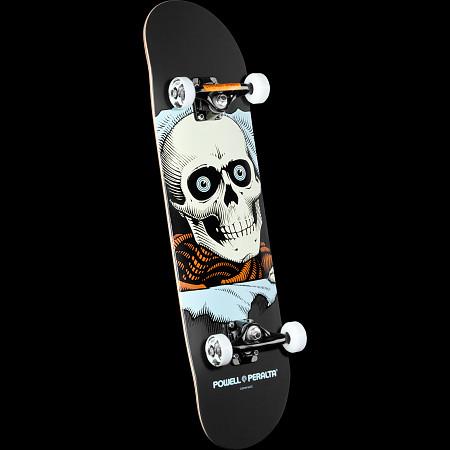Powell Peralta Ripper Complete Skateboard Gray - 8 x 32.125